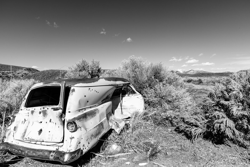 Car in decay