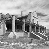 The old casino building in Rhyolite.