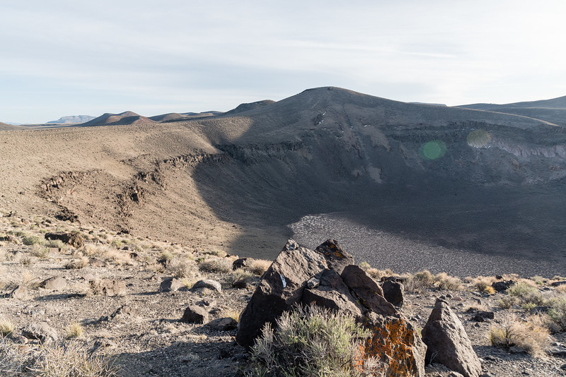 Lunar crater near Warm Springs, NV.