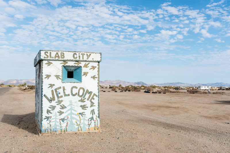 Slab City welcomes you