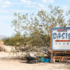 The exclusive Oasis Club, Slab City, California