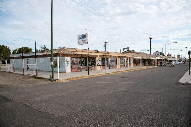 Abandoned buildings, Niland, CA