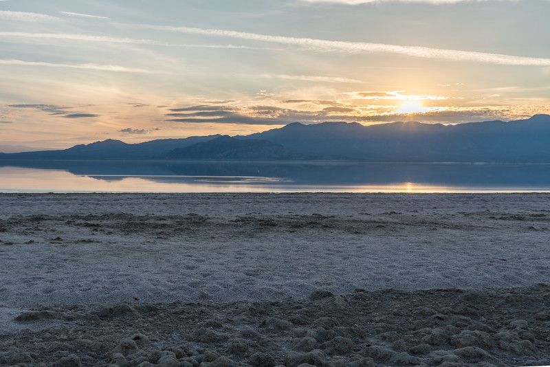 Sunset, Salton Sea