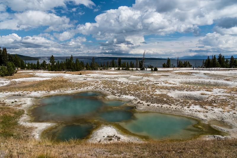 West Thumb Geyser Basin, Yellowstone NP