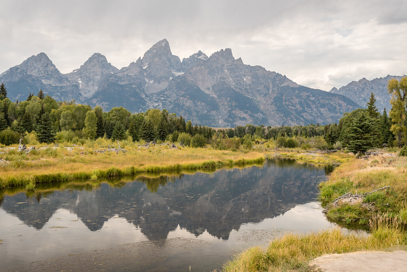 Schwabacher landing in Grand Teton NP