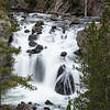 Firehole Falls along Firehole Canyon Road