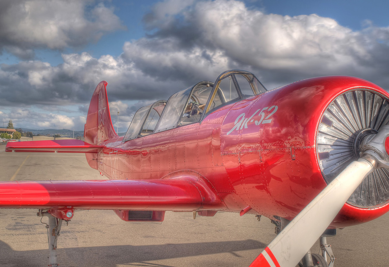 Kregg's YAK-52 - HDR - 28 Apr 2010