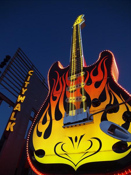 Hard Rock Cafe at Universal Citywalk - 9 Mar 2011