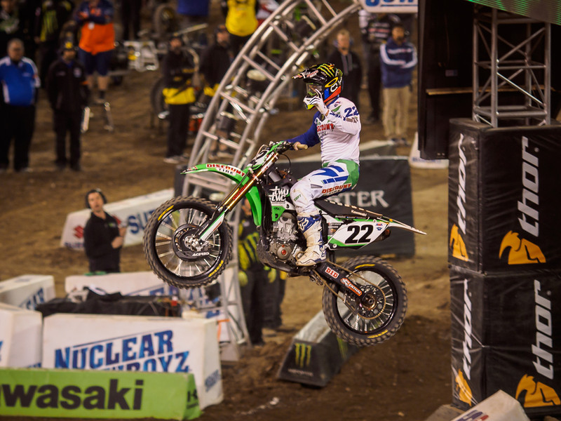 Chad Reed wins 450 Main - 1 Feb 2014