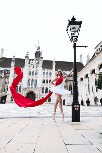 London Ballet Street Fashion Shoot with Paulien