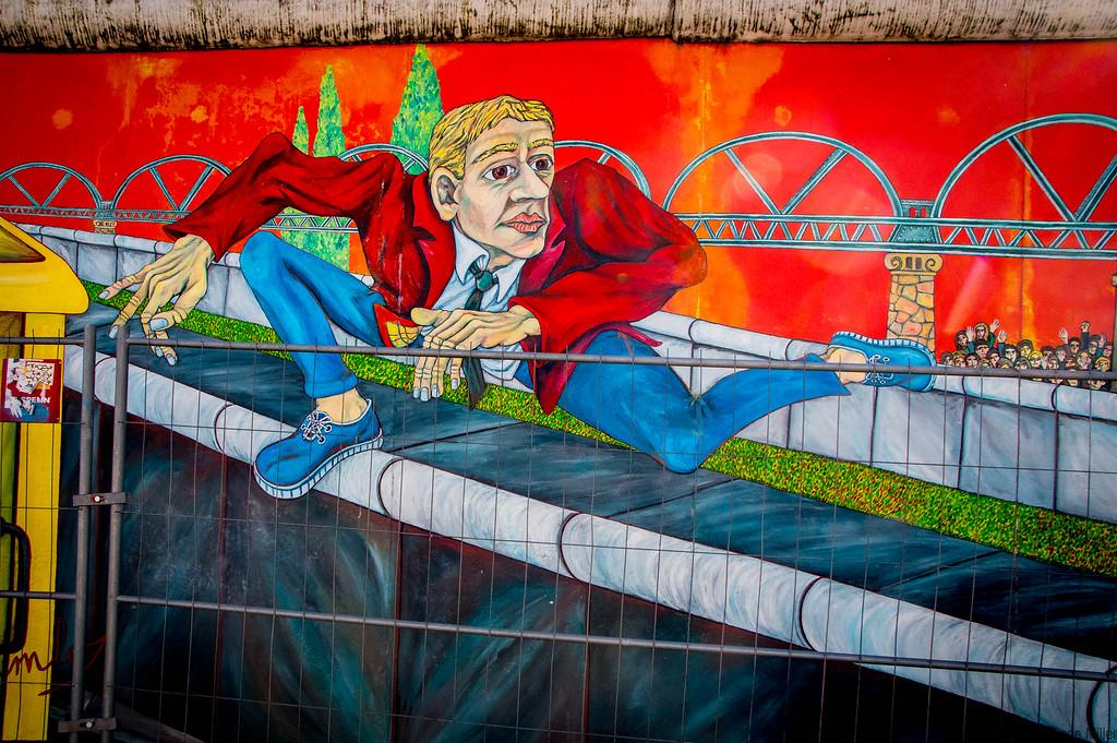 East Side Gallery (Berlin Wall)