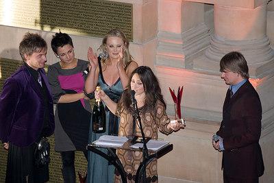 "KT Tunstall - awarded ""Most Stylish Band/Musician"""