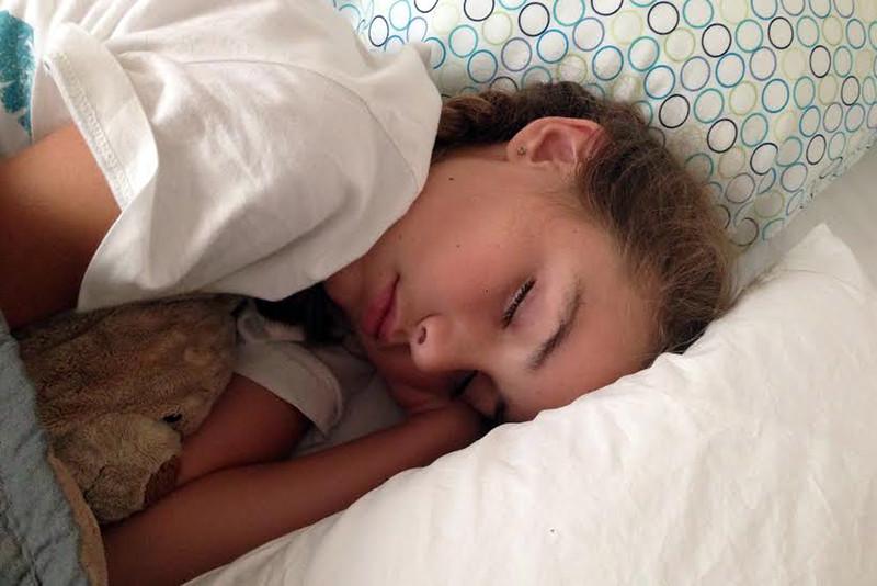 June 2014 Sage asleep
