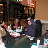 steve & diana ferrara, kathy & darren mcdaniel and sean mcguire<br /> february 16. 2001<br /> sham's birthday celebration