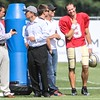 Patriots Training Camp (Jon Bon Jovi and Drew Brees) - August 7, 2012