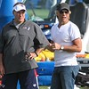 Patriots Training Camp (Bill Belichick and Jon Bon Jovi) - August 7, 2012