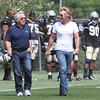 Patriots Training Camp (Robert Kraft and Jon Bon Jovi) - August 7, 2012