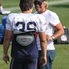 Patriots Training Camp (Jon Bon Jovi and Danny Woodhead) - August 7, 2012