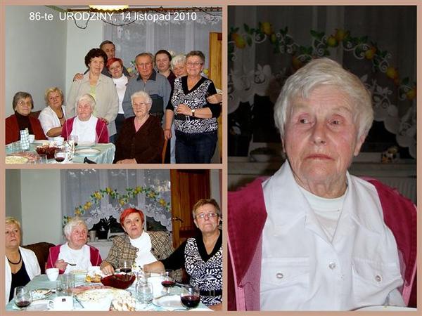 Urodziny Ewy, 86 lat