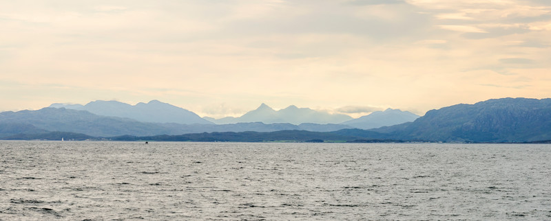 On the way to to Eigg