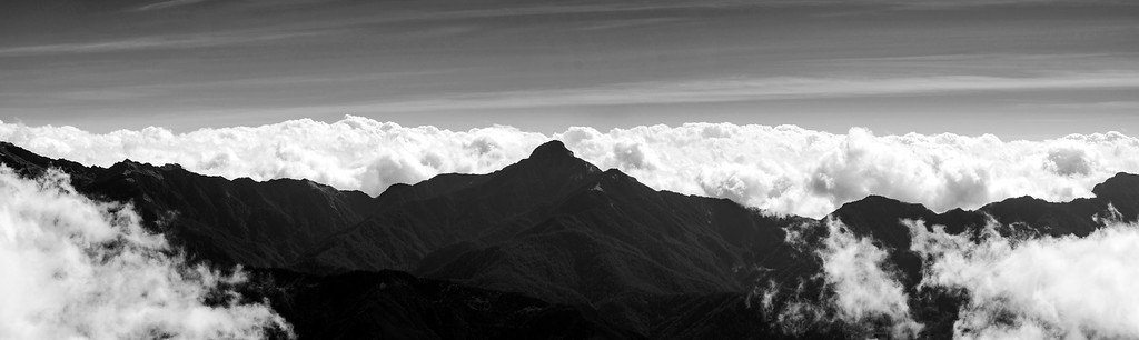 The Central Range Point (中央尖山), at 3705m