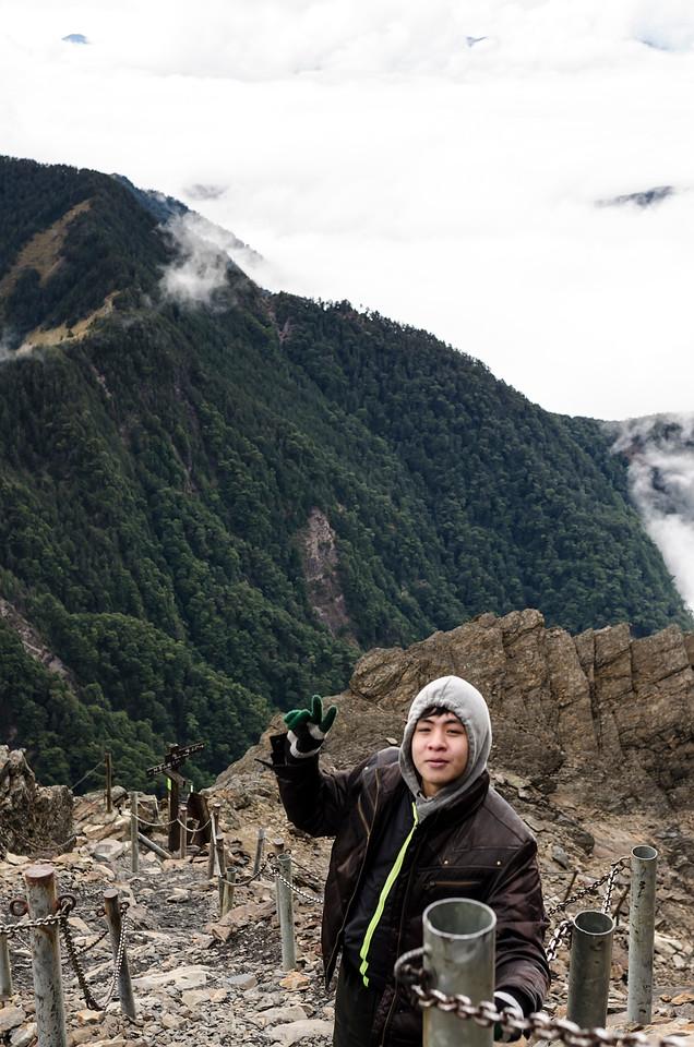 Trailing up the Yushan, Jae Mountain, Taiwan.