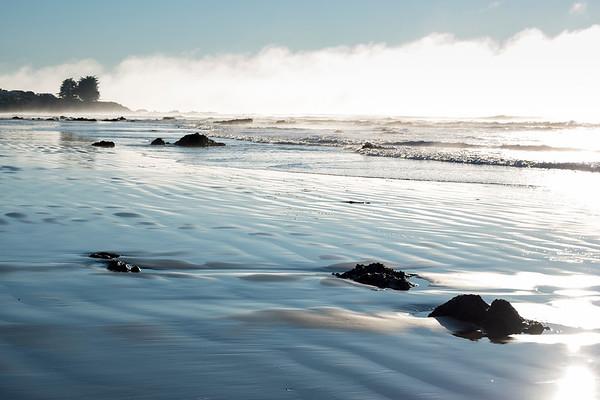 Sea cloud at Kaka Point