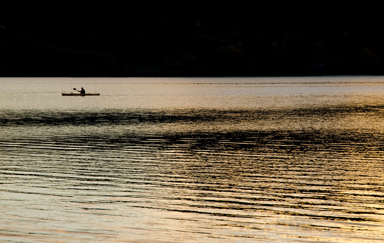 lonely kayak