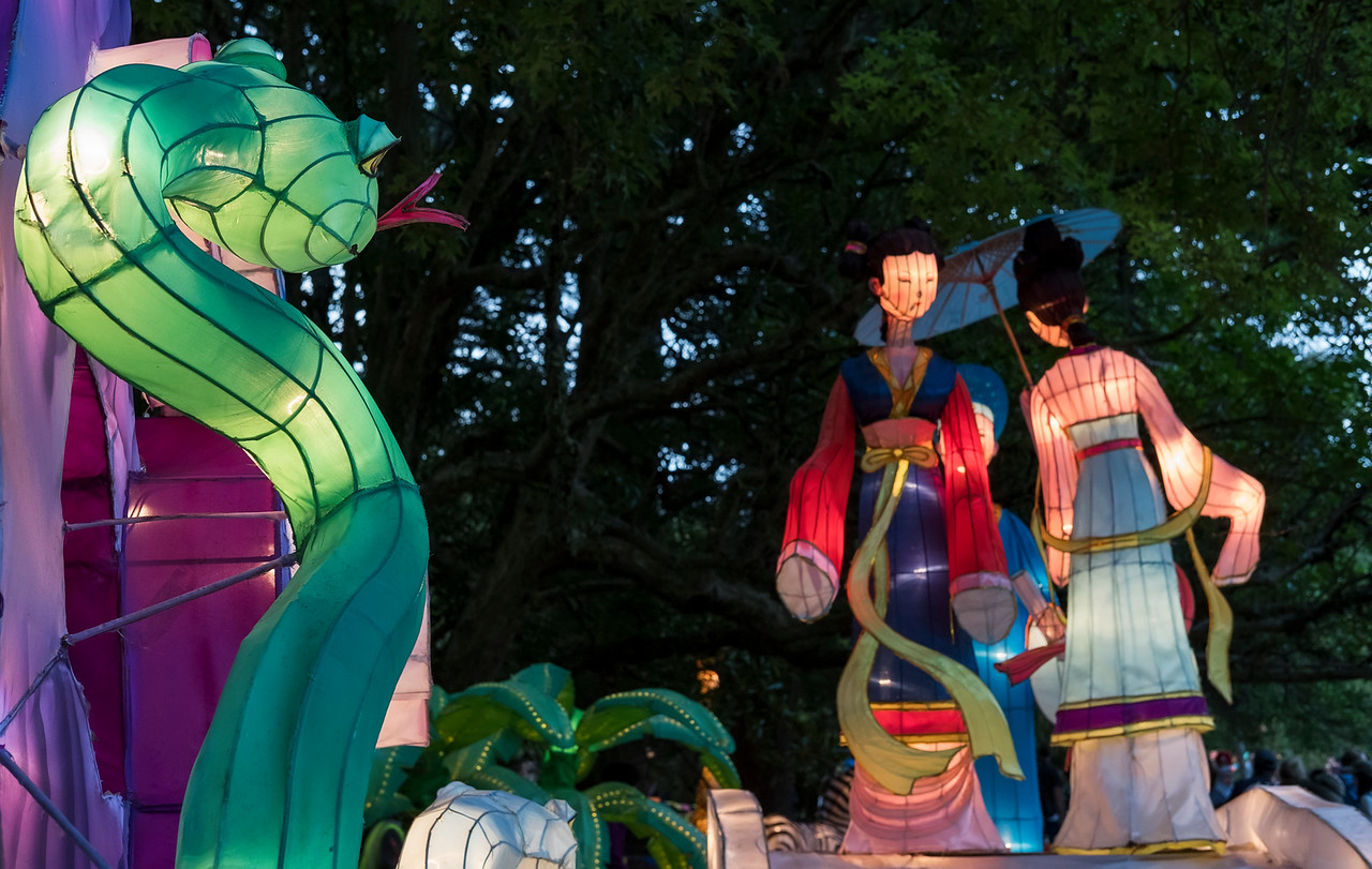Few quick shots from the Lantern Festival.