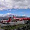 Kangerlussuaq. Ankomst kl. 09.55 lokal tid efter 4,5 timer. 28. juni 2006