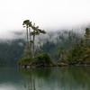 Prehistoric lake view, Alaska