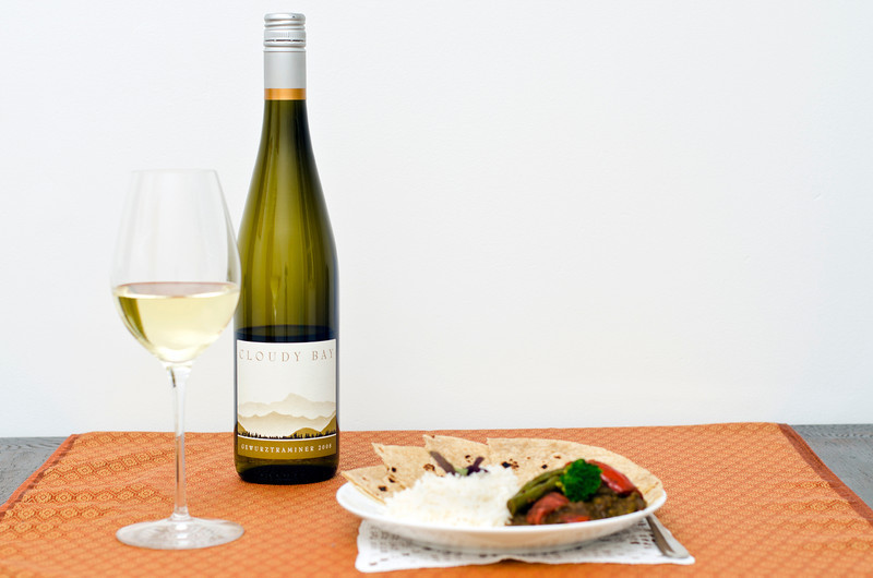 Gewurtztraminer & Indian curry