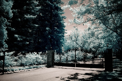 This is the gated community across from Pam's House ©JLCramerPhotography 2009