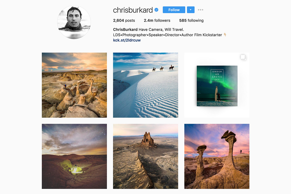 Travel with Chris on Instagram