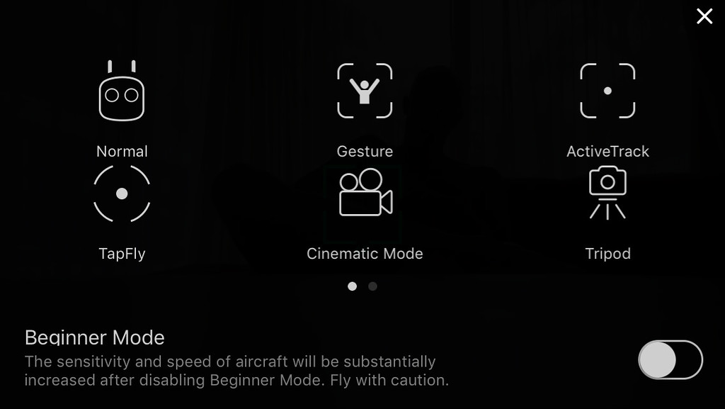 DJI Mavic Flight Modes