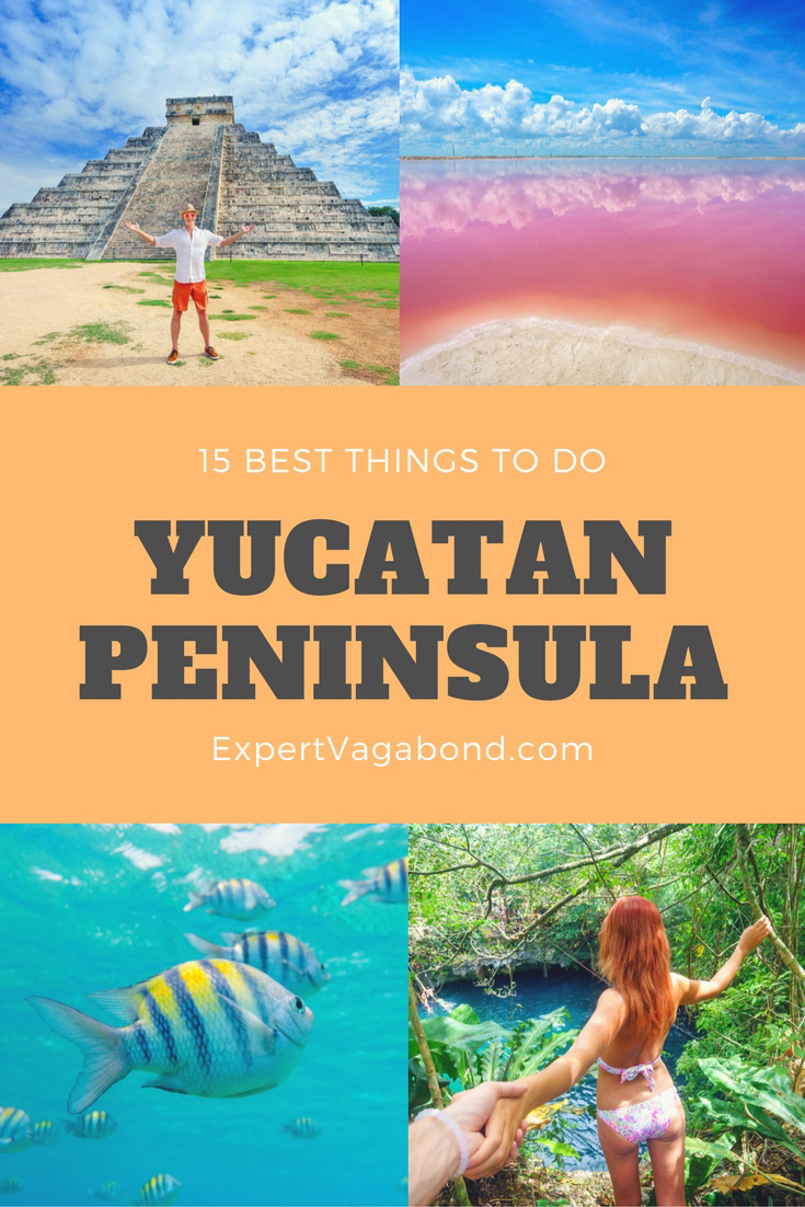 Things to do in the Yucatan Peninsula. More at ExpertVagabond.com