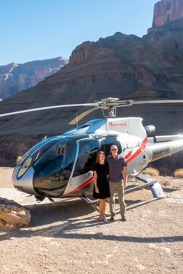 Grand Canyon Helicopter Tour from Vegas. More at ExpertVagabond.com