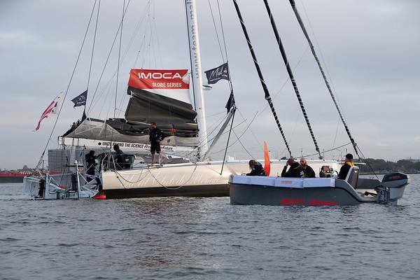 28 08 19 - New York (USA) - Team Malizia and Greta Thunberg arrival - Atlantic crossing