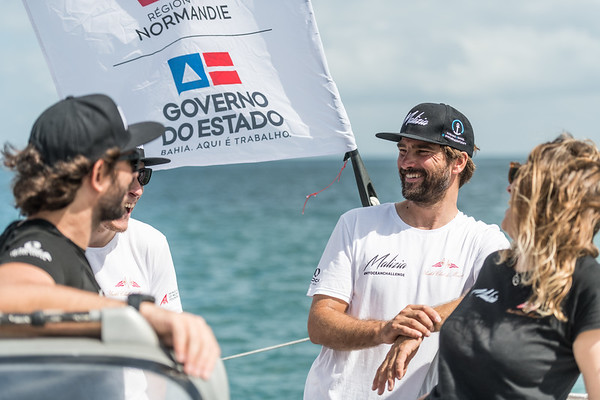 Team Malizia at the TJV Transat Jacques Vabre 2019 race from Le Havre, France, to Salvador da Baía, Brasil.