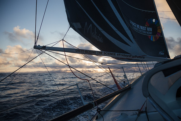 04 09 2018 Team Malizia record from NY to UK