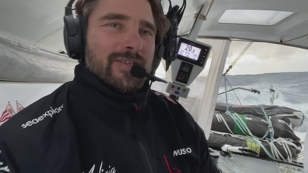 Day 27 - Elbsation video during Vendée Globe 2020