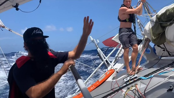 Team Malizia @ 2019 Transat Jacques Vabre - Onboard Hardcuts 2