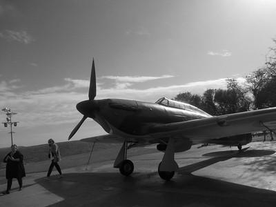 Hurricane figther plane anglais