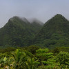 Manoa Mountains Oahu