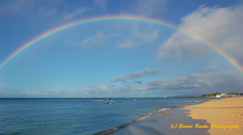 Waikiki Rainbow Morning