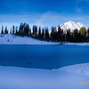 Tipsoo Lake Winter Light