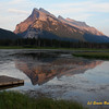 Vrmilion Lake and Mt. Rundle