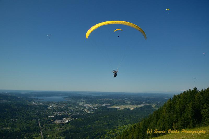 Poo Poo Point Hang Gliders