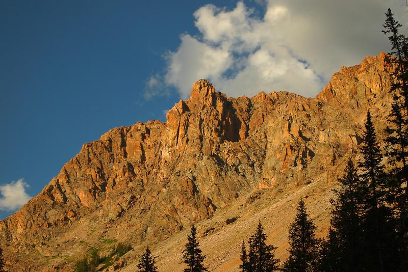 Peak above Porcupine Pass