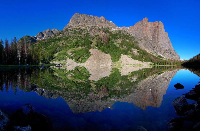 Granite Lake And Square Top Mountain